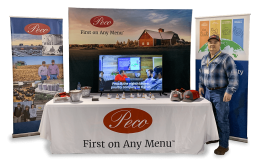 Peco's trade show booth